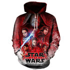 Star Wars The Last Jedi Hoodie Sweatshirts Pullover Plus Size Sweet Shirt Pocket $20.73 USD