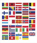 European Europe Flag Scrapbooking Country Collection Vinyl Car Sticker Decal