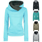 Fashion Women Long Sleeve Hoodie Sweatshirt Sweater Hooded Cotton Coat Pullover