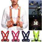 Adjustable Safety Security High Visibility Reflective Vest Gear Jacket Tops New