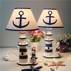 red desk lamp - Nautical Lighthouse Desk Lamp Light Study Light Anchor Bedside Home Table Decor