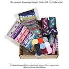 Ribbons Trimmings Hamper For Crafts Artist Gift Box, Grosgrain Sequin Embroidery