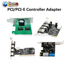 PCI/PCI-E 2/4/5 Ports 2/3.0 Express 4Pin&20Pin USB Panel Controller Card Adapter