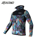 SPAKCT Cycling Long Sleeves Jersey Windproof Coat Autumn Winter Printing Jacket