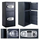 DS77TE Home Office Security Electronic Digital Steel Safe Black Box-NEW