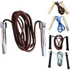 Leather Skipping Rope Boxing Speed Jumping Rope Gym Fitness Yoga Exercise Rope