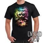 Disney Alice in Wonderland Tim Burton Cheshire Cat - Mens T Shirt