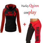 Women Harley Quinn Joggers Trousers Lounge Wear Tracksuit Bottoms Tops Pants Lot