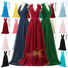 Bridesmaid Dress Long Chiffon Evening Wedding Formal Gown Party Prom Dress