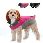 Waterproof Dog Coat Jacket Reflective Warm Fleece Lined Medium Large Dog Clothes