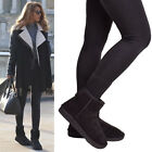 Ladies Womens Winter Snow Boots Fur Lined Short Mini Snug Ankle Calf Boots Size