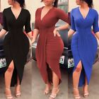 fashion dress - Women Ladies Sexy Fashion Bodycon Evening Party Cocktail Pencil Club Mini Dress