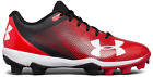 Under Armour Boy's UA Leadoff Low RM Jr. Baseball Cleats, Shoes, 1297316-061