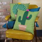 Cactus Cushions from Sass & Belle ~ Two colourful designs ~ inner pad included!