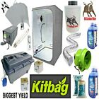 Complete Grow Tent Kit 600w Light Fan Kit 1.2 Set up Hydroponics System Oxy Pot