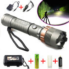 tool cases direct - Police Tactical 20000LM T6 LED 5Modes Rechargeable Flashlight Torch Zoomable