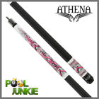 Athena ATH42 Pink Barbed Hearts Pool Cue $124.95 USD