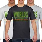 Worlds Tallest Leprechaun Funny T Shirt Ireland St Patricks Day Drink Irish P25