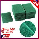 Lot 40pcs Scouring Pads Medium Duty Home Kitchen Auto Scour Scrub Cleaning Pad