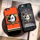 Anaheim Ducks Ice Hockey NHL Team Silicone Case Cover for iPhone 6 7 8 X Plus $8.58 USD on eBay