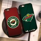 Minnesota Wild Ice Hockey NHL Team Silicone Case Cover for iPhone 6 7 8 X Plus $8.58 USD on eBay