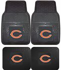 Chicago Bears Heavy Duty Vinyl Car,  Truck,  SUV Auto Floor Mats