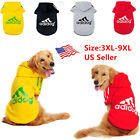 Внешний вид - Big Dog Sweater Large Jumpsuit Adidog Warm Hoodie Cat Fleece New Pets 3XL-9XL