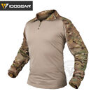 IDOGEAR G3 Combat Shirt w/ Elbow Pads Military Tactical BDU Airsoft MultiCamTactical Clothing - 177896