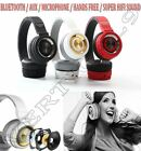 New High Quality Bluetooth Stereo Headset Wireless Headphones With Microphone
