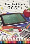 GOOD LUCK IN YOUR GCSE OR A LEVELS EXAMS GOOD LUCK CARD 1ST P&P GREETING CARD