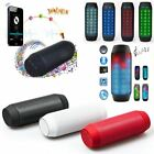 LED Flashing Multi-function Sports Bluetooth Speaker with MIC Support FM TF Card