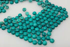10cts Loose Turquoise Lot Sky Blue Color Opaque Round Cabs 3mm-100pc 4mm-50pc