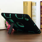 Apple iPad 2 3 4 Heavy Duty Shockproof Case KickStand Armor Protective Cover