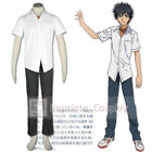 A Certain Magical Index Touma Kamijou Cosplay Costume :Free shipping