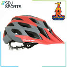Raleigh TYR Mountain Bike MTB Cycling Bicycle Helmet Red