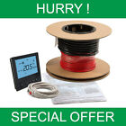 Electric underfloor heating loose wire heating cable kit WHILST STOCKS LAST