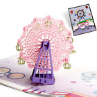3D Creative Pop Up Cards Valentine Lover Happy Birthday Anniversary Greet Cards