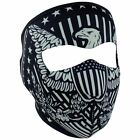 Zan Headgear Full Head Mask + Big Face EXTENSION. Neoprene Motorcycle Head Cover