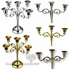 3Arms 5Arms Candle Holders Metal Candelabra 27cm Tall For Wedding Home Decor Hot