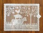 """Heritage Lace Farmhouse 14""""x 20"""" Placemat  Natural or Off-White"""