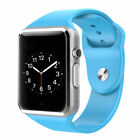 Bluetooth Smart Watch w/Camera Waterproof Phone Mate for Android Phones <br/> Men women |Holiday birthday Gift| BEST WITH ANDROID