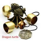 Chinese Feng Shui Brass Wind Bell Windchime Animal Bagua Wealth Lucky Decor Home