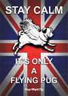 Pug Gifts - Pug Poster - Union Jack Pug Poster - 2 fantastic designs available