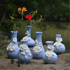 Classical crafts Ceramic Handmade Flower Vase Decorative Accessories Ornament