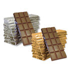10 x 50g Milk Chocolate Bars for Personalising, Make your own Favours and Gifts.