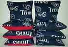 Tennessee Titans Set of 8 Cornhole Bean Bags FREE SHIPPING $25.99 USD on eBay