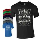 30th Birthday Gift T Shirt Made In 1988 Original Parts 30 Years Mens Ladies Top