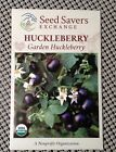 Gourmet Huckleberry Seeds -Organic Heirloom -Non Gmo Open Pollinated -50 SEEDS