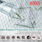 padded mattress pad - Bamboo Waterproof Mattress Protector  Soft Hypoallergenic Pad Bed Topper Cover