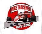 Retro F3000 T-shirt: Mike Thackwell Ralt Cosworth DFV 1985